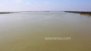 ミャンマー パテイン-バゴー 川