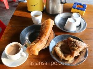 ミャンマー パテイン 朝食