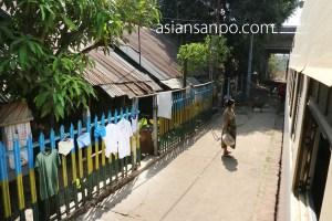 ミャンマー バゴー 駅