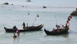 ミャンマー チャオピューーンガパリ 海