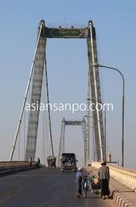 ミャンマー パテイン 橋