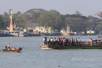 ミャンマー パテイン 川
