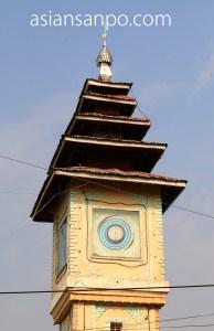 ミャンマー シュエボーーカレイワ 時計塔