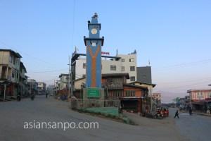 ミャンマー ハカ 時計塔