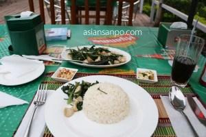 ミャンマー カタ 夕食