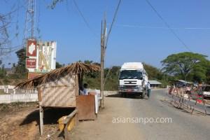 ミャンマー カタ-ミッチーナ 州境