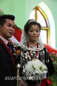 ミャンマー ミッチーナ 結婚式