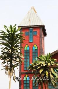 ミャンマー ミッチーナーカタ 教会