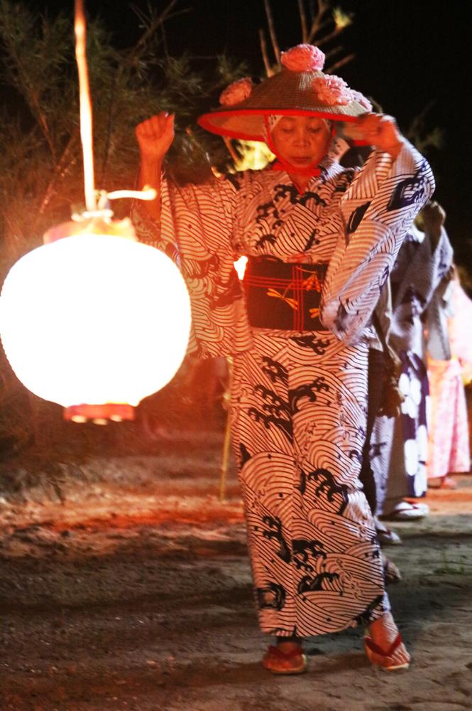 南伊豆町妻良の盆踊り