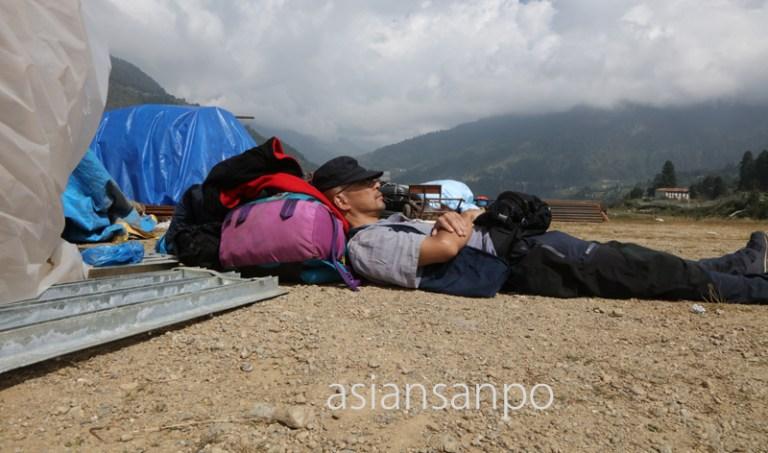 ネパール パプル空港