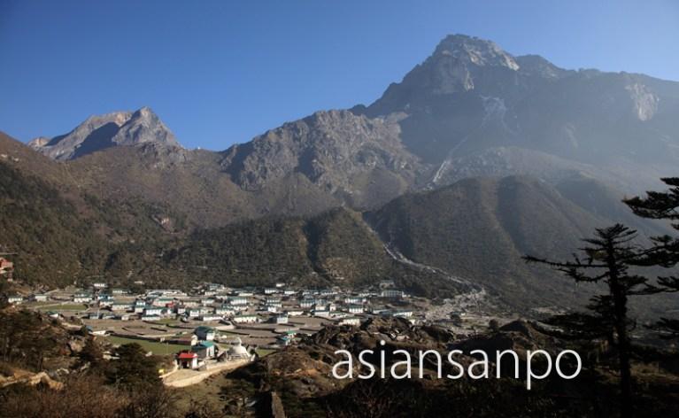 ネパール エベレスト街道 クンデ