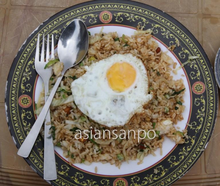 ネパール エベレスト街道 タンボチェ 炒飯