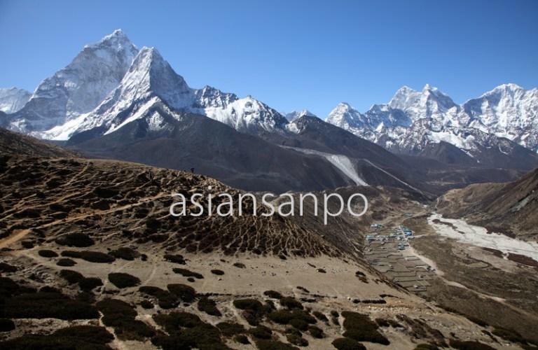 ネパール エベレスト街道 アマダブラム