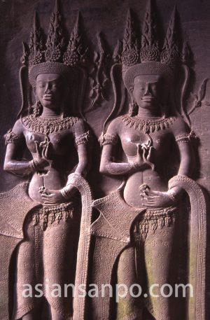 カンボジア アンコール・ワットのデバダ