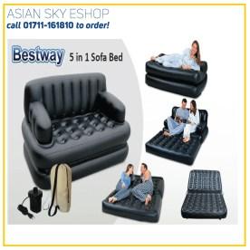 Bestway 5 in 1 Sofa Cum Bed