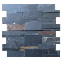 Slate Stacked Stone Tile