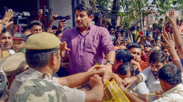 Arvind Kejriwal a big example of an urban Naxal: Delhi BJP chief Manoj Tiwari