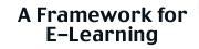 Un marco para la E-Learning
