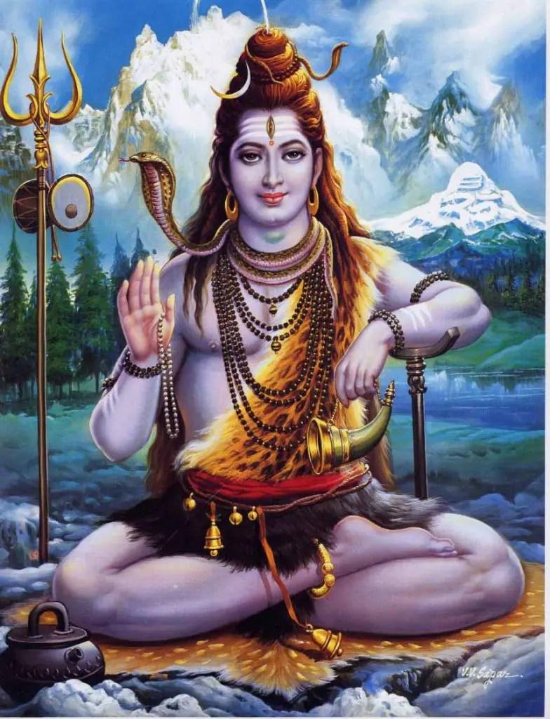 Dieu Shiva HIndouisme