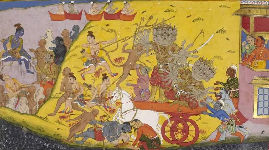 Scene Ramayana Hindousime