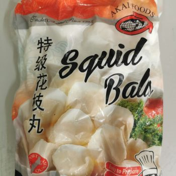 Akai Foods Squid Balls, 1 kg pack