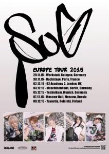 SuG - SuG 2015 Europe Tour - Artwork