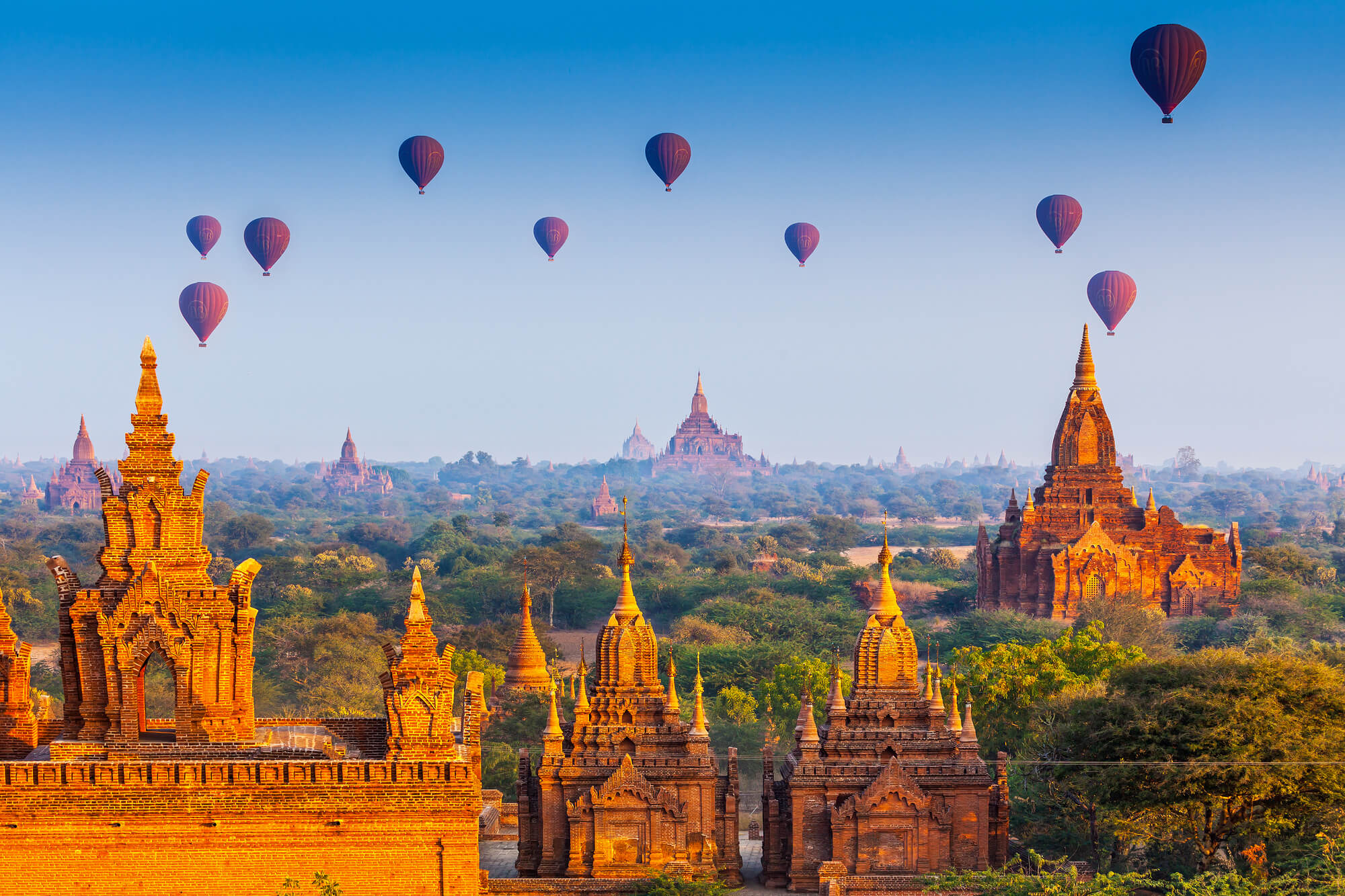 Read more about the article Passeio de balão em Bagan