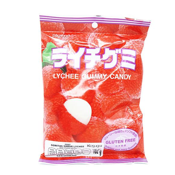 Kasugai Gummy Candy Lychee