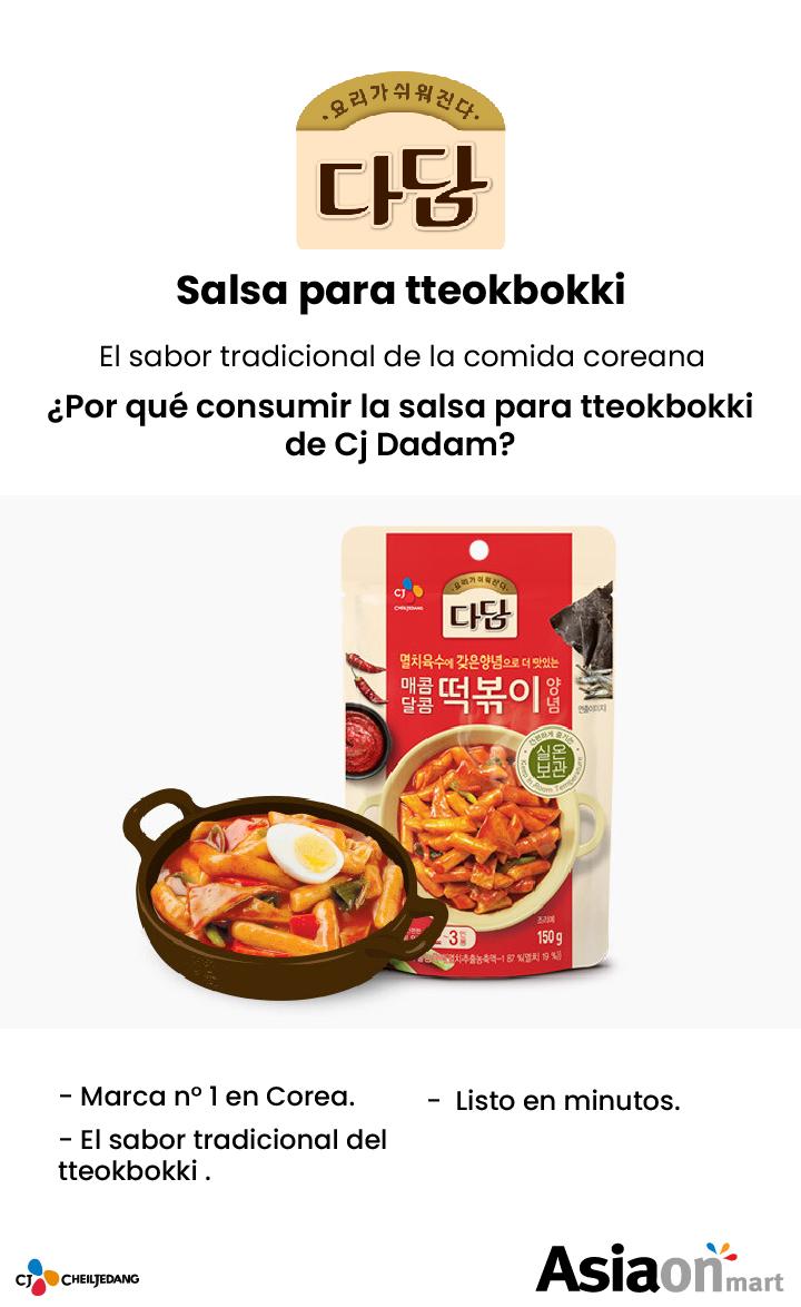 CJ Dadam Salsa para Tteokbokki
