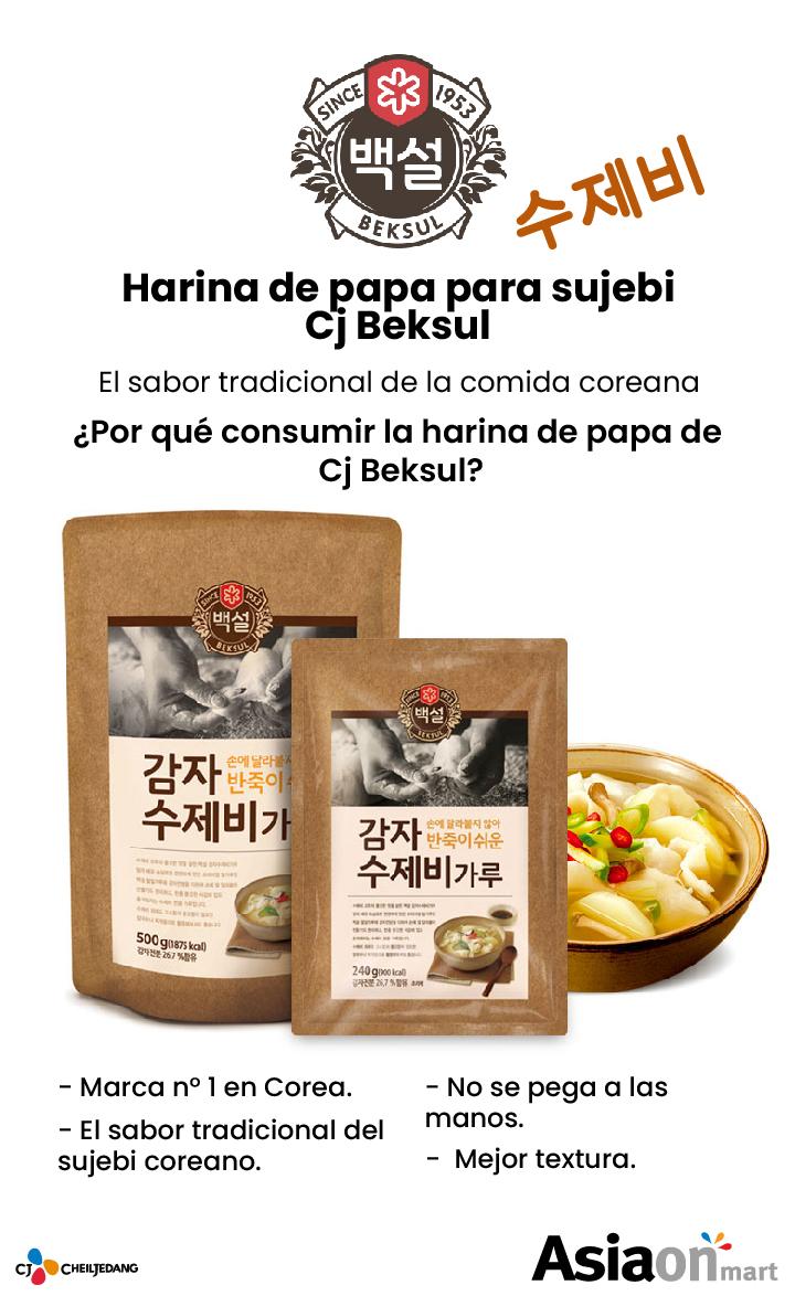 Cj Beksul Harina De Almidón De Papa 500gr
