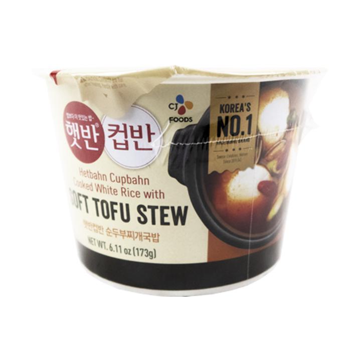 Cj Cupbahn Sundubu Jjigae (sopa de tofu)