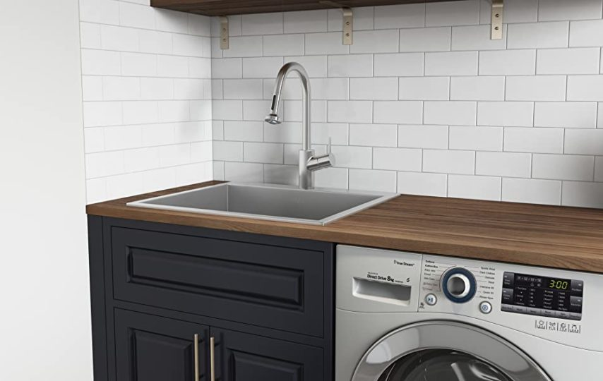 deep laundry sinks offer different
