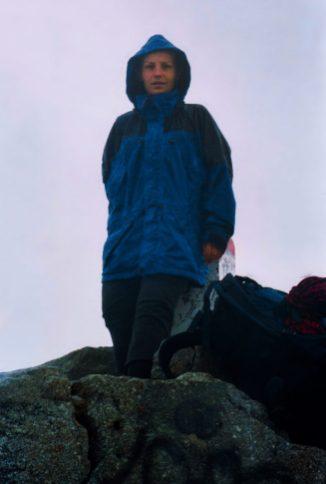 Moje pierwsze wejście na Rysy - sierpień 2002 r.