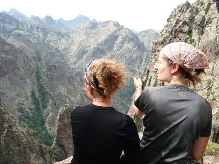 Korsyka to góry, prawie jak Tatry. Podobnie wysokie i podobnie postrzępione.