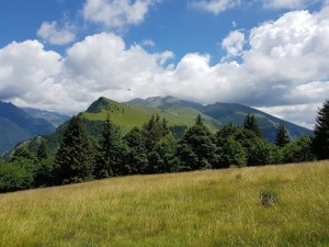 Widok na Monte Valbona