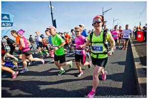 Maraton Warszawski, na trasie, 2014