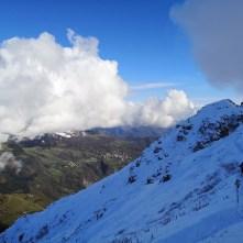 śnieg, góry, Resegone