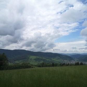 łąki, Beskid Sądecki, Góry Leluchowskie