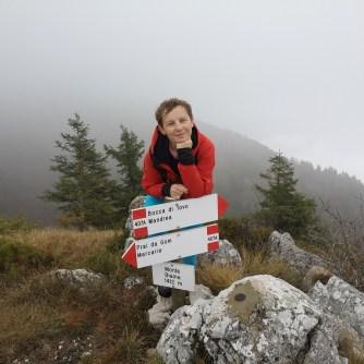 Garda, góry, dziewczyna Montano