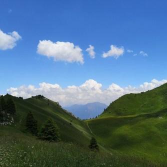 Bocca di saval, góry, przełęcz, Garda