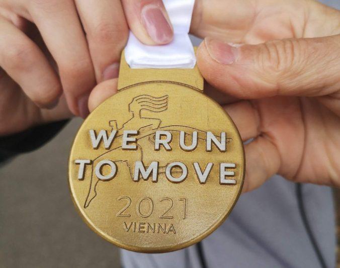 Medal, bieg kobiet