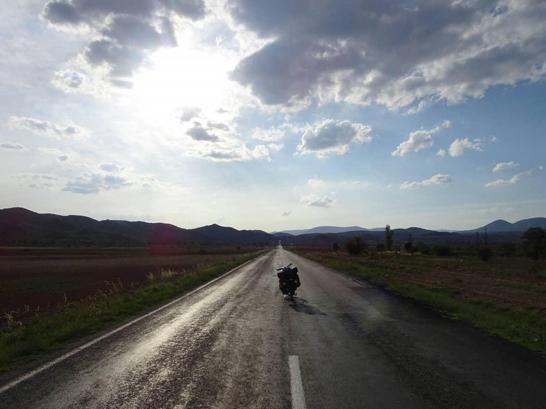 Silkeveien på sykkelsetet