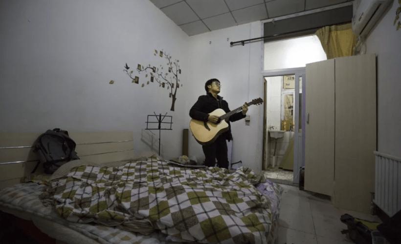 Unge i Kina bekymrer seg for høye leiepriser