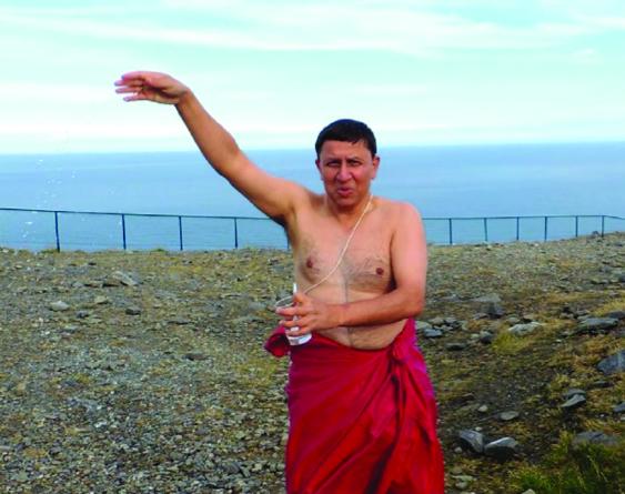 Sanskrit på Nordkapp
