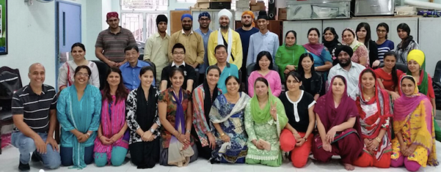 Hong Kong first aid course for Sikh ladies