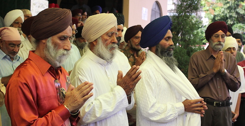Giani Banta Singh (second from left) had a burning passion for teaching of Punjabi