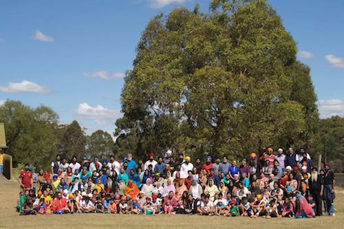 Full house: Melbourne SIkh Family Camp, 6-9 March 2015 -- PHOTO SIKH NAUJAWAN MELBOURNE
