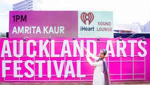 THAT'S ME: Amrita next at the Auckland Arts Festival