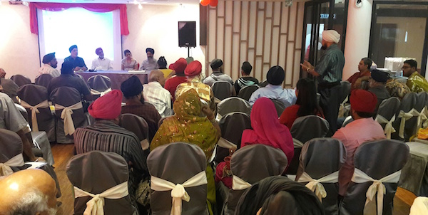 One participants seeking clarification at the MGC seminar in Ipoh, Perak, on Aug 22. - PHOTO ASIA SAMACHAR