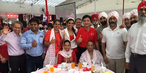 Another dinner to celebrate SG50. - PHOTO HARVINDER KAUR/FB